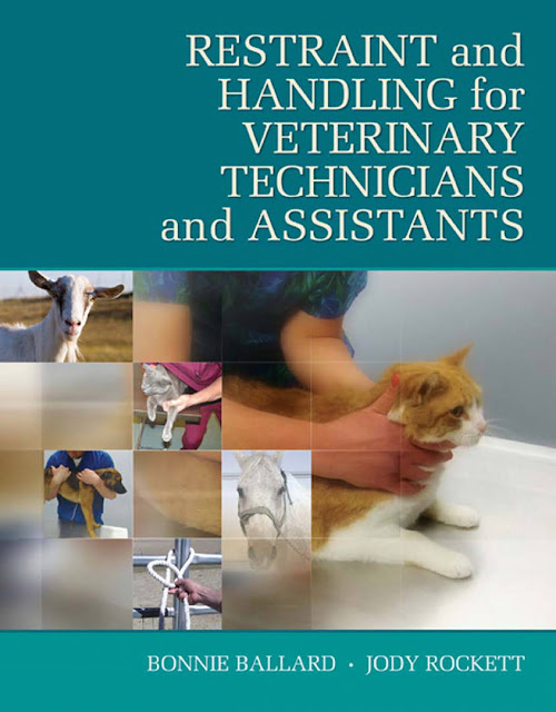 Restraint & Handling for Veterinary Technicians & Assistants  - WWW.VETBOOKSTORE.COM