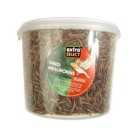 THE BEST DEALS £19.29 (£3.86 / l) Extra Select Mealworms 5 L Tub for wild birds