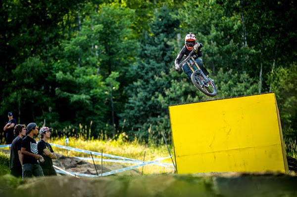 2014 Mont-Sainte Anne UCI World Cup Downhill: Claudio Caluori's Track Preview