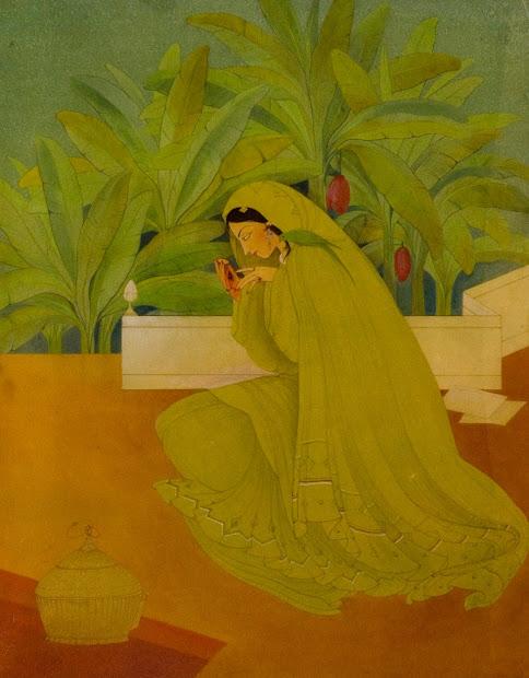 Chinar Shade Kashmir In Works Of Artist Abdur Rehman Chugtai