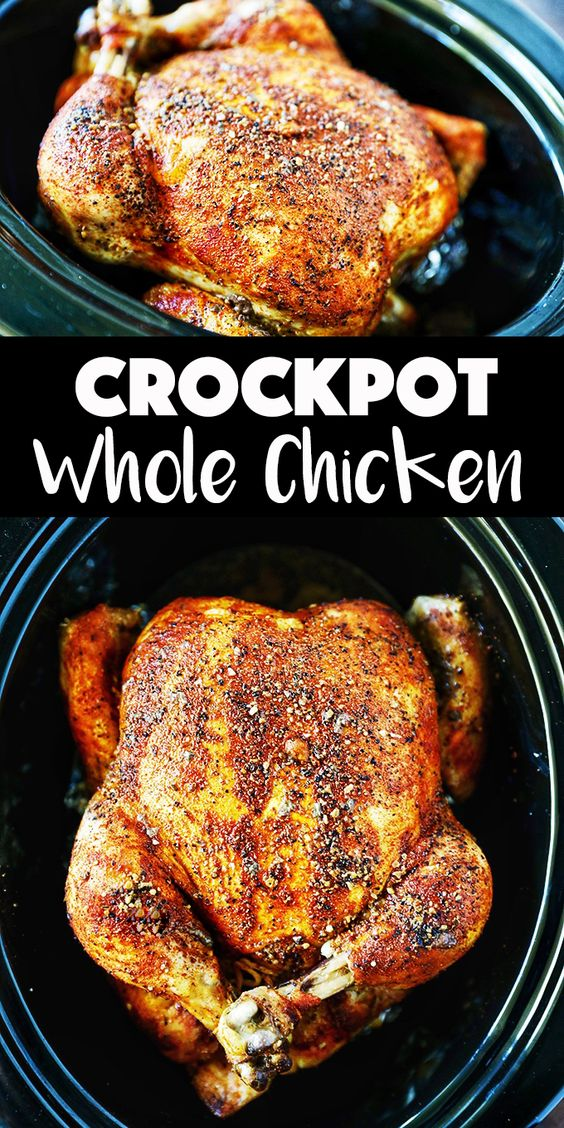 Crockpot Whole Chicken