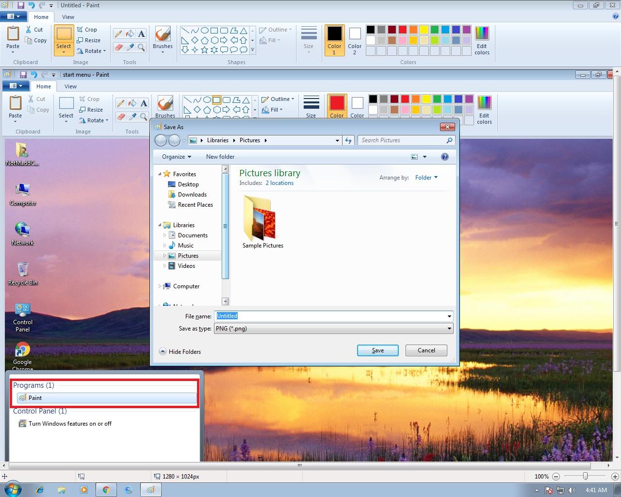 2 Best Ways To Take Screenshot on Windows 7 - Screen Shot