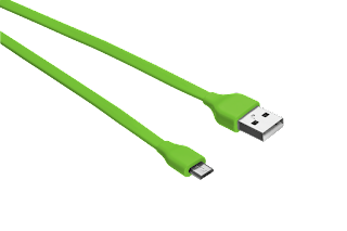 TRUST CAVO PIATTO MICRO USB 1 M VERDE