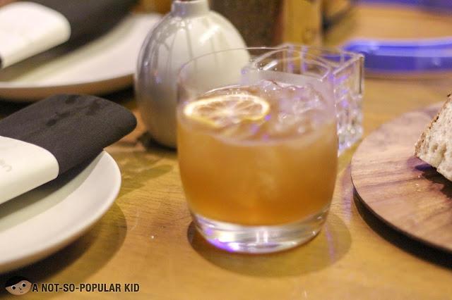 G&T - Ungava gin, tepache, pineapple