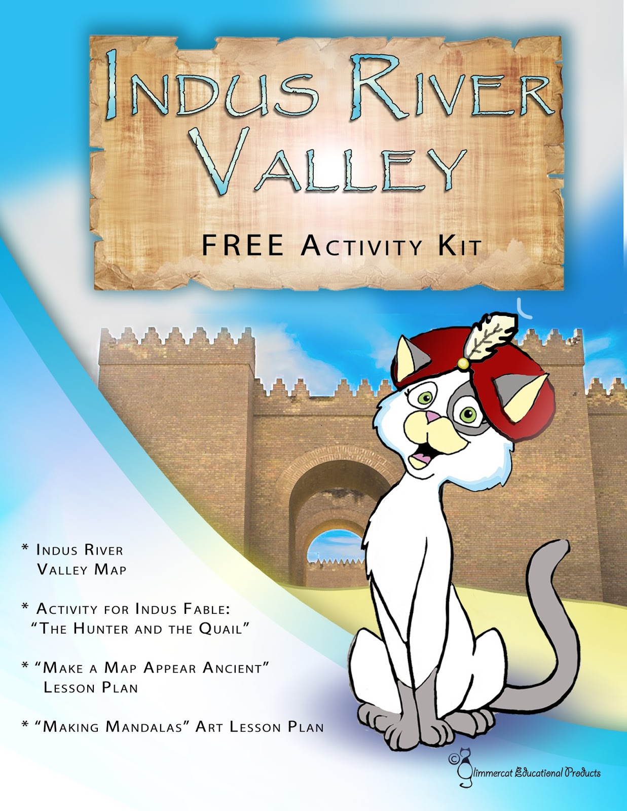 Glimmercat Our Free Indus River Valley Mini Activity Packet