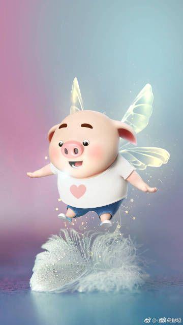 Hình Nền Điện Thoại Heo Con cute nhất 2019