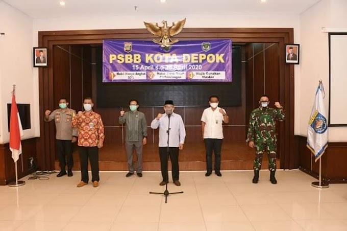 Walikota Bersama Unsur Forkopimda Deklarasikan Penerapan PSBB