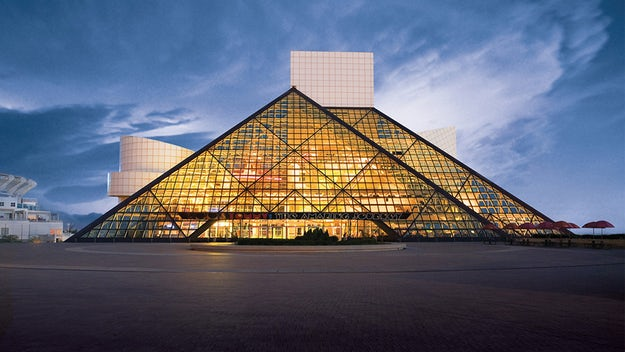 Rock and Roll Hall of Fame, Cleveland, Ohio (1995)