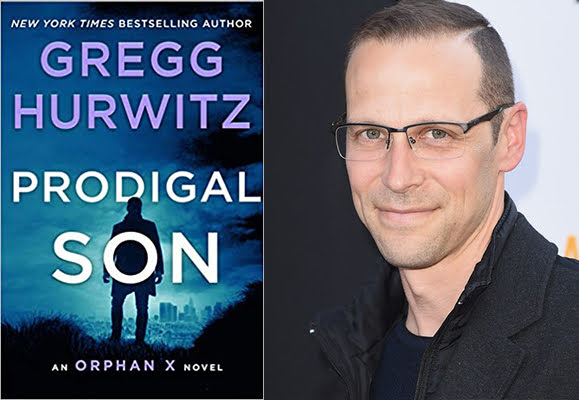 Gregg Hurwitz with Prodigal Son
