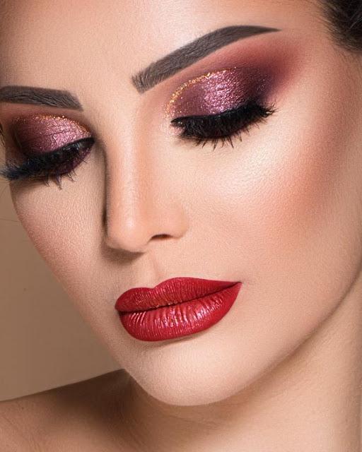 10 Ideias de maquiagens lindas para festa a noite