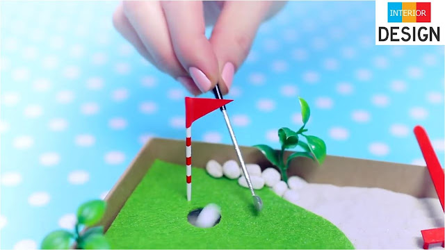 DIY Miniature Golf Zen Garden 2