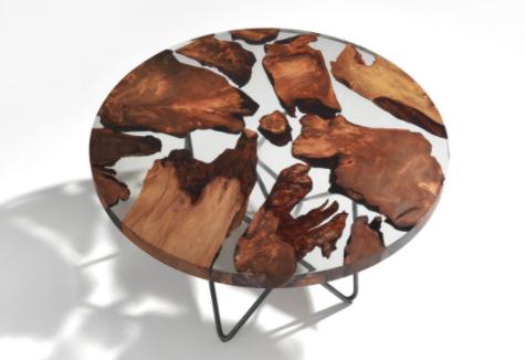 8 originales mesas de comedor de madera maciza|Espacios en madera