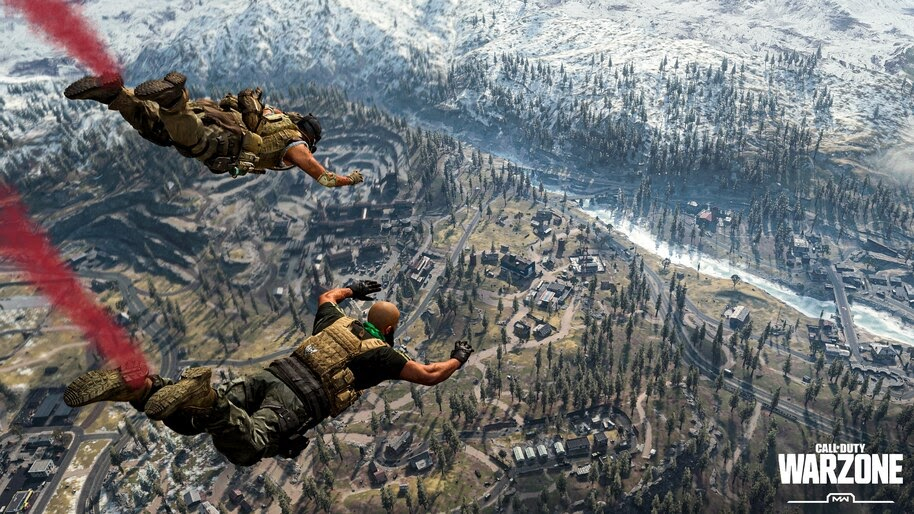 Call of Duty Warzone, Skydive, 4K, #7.1346