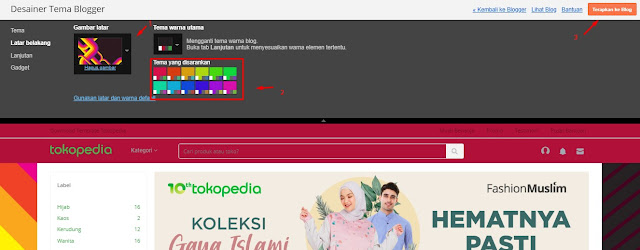 Cara Edit Template Blogger TokoPedia Premium dari Rian SEO