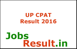 UP CPAT Result 2016
