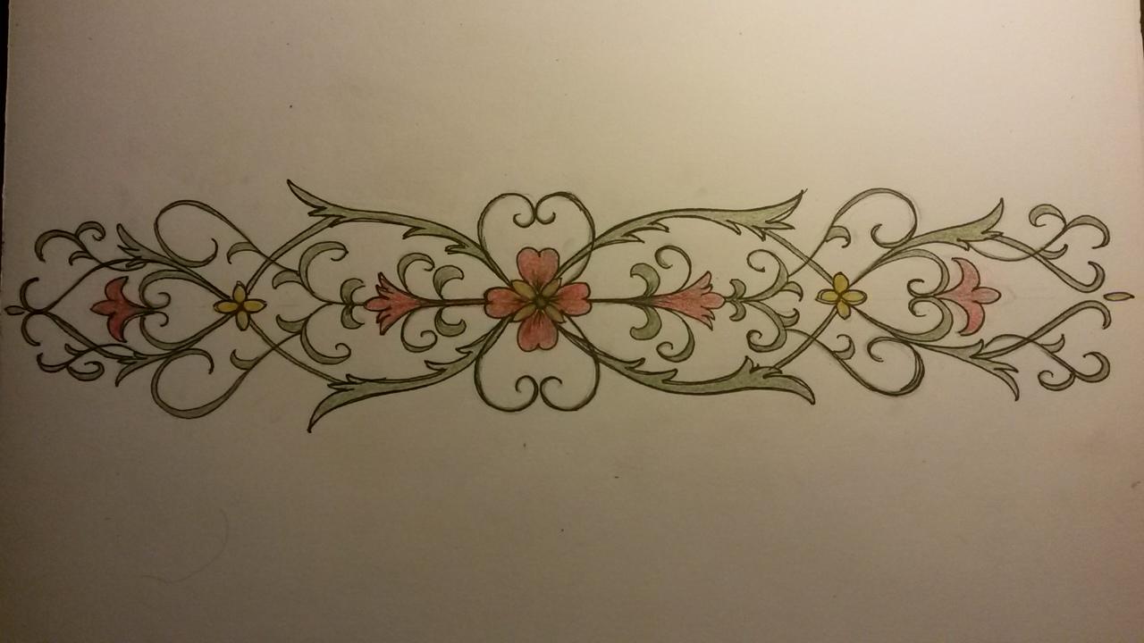 ett mönster som jag prövade på att rita av här om kvällen cfd7302ccf9fb