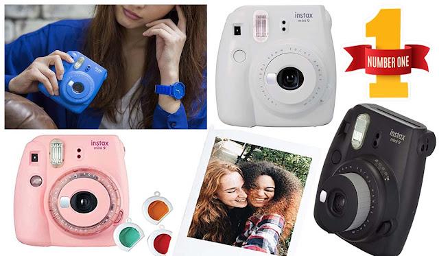 Fujifilm Instax Mini 9 Instant Camera, Smokey All Color Available