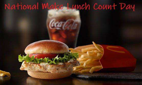 National Make Lunch Count Day Wishes Beautiful Image