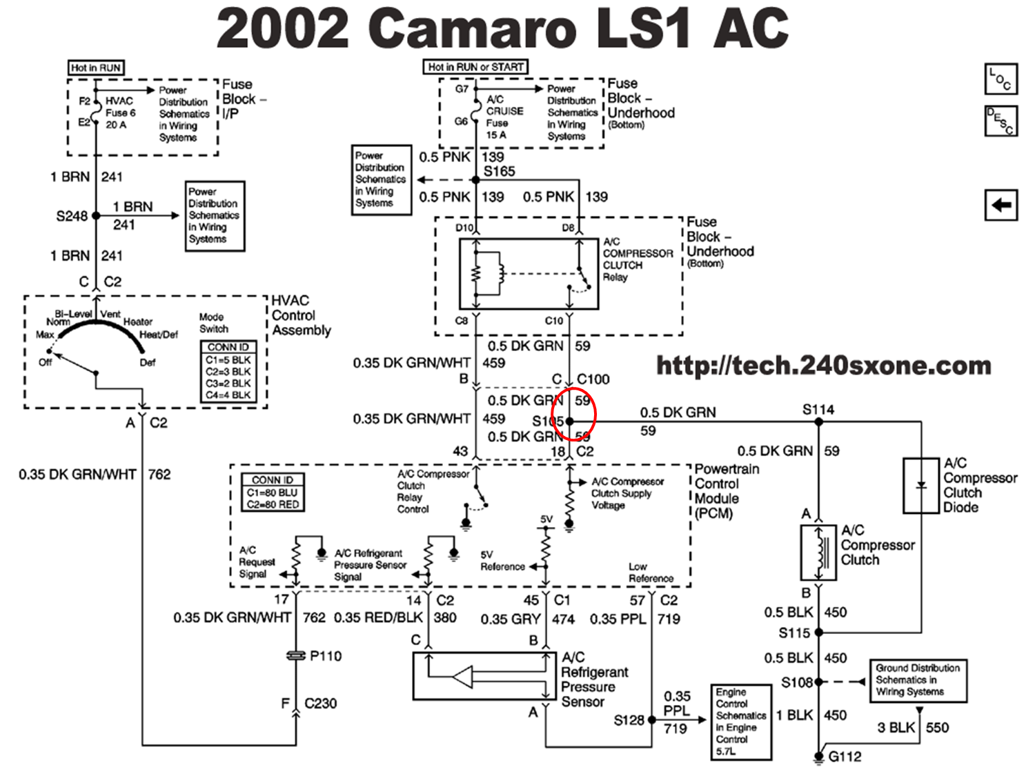 ac wiring harness conversion with ls1