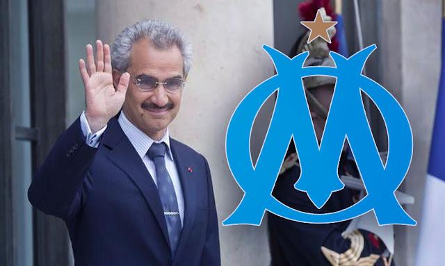 الوليد بن طلال يقترب من شراء أولمبيك مرسيليا بمبلغ خيالي