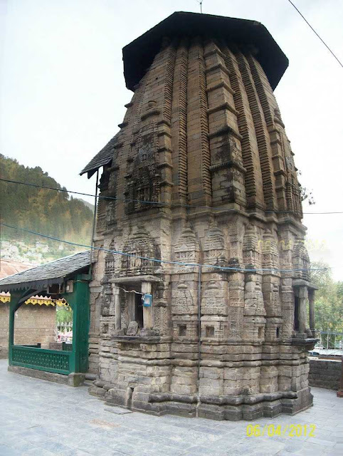 11th century temple . Hariraya Temple Chamba
