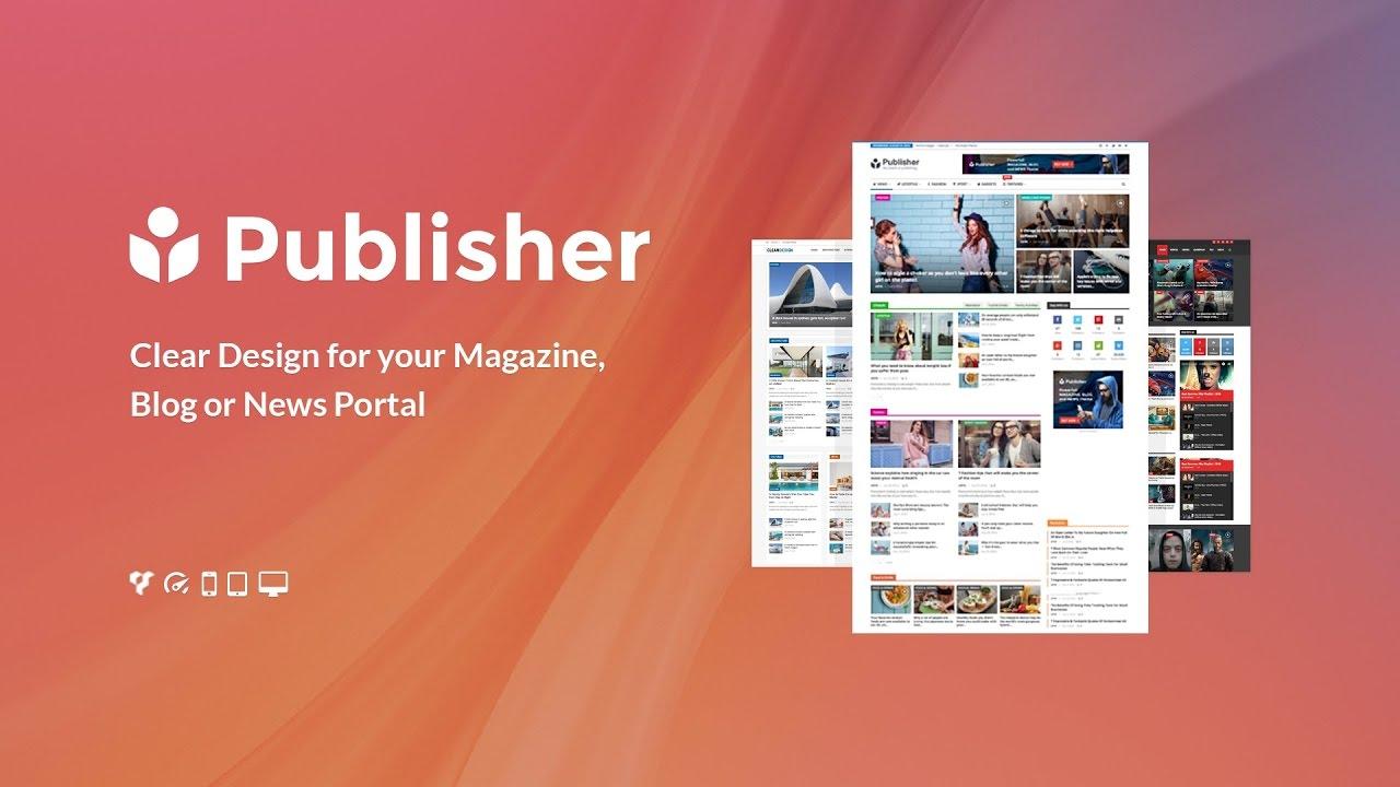 Publisher – Newspaper Magazine WordPress Theme V.7.9.0