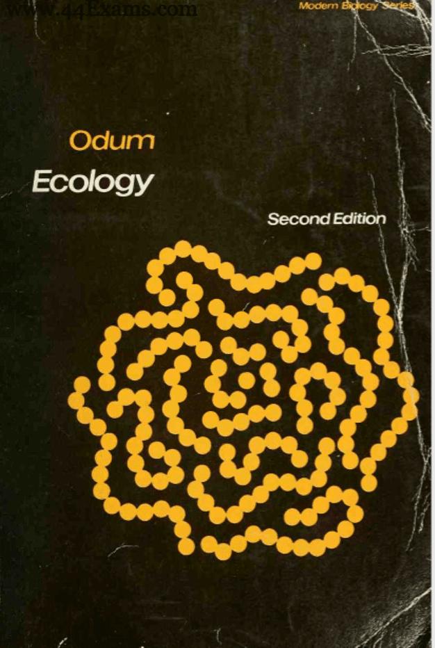 Ecology-by-Odum-For-UPSC-Exam-PDF-Book