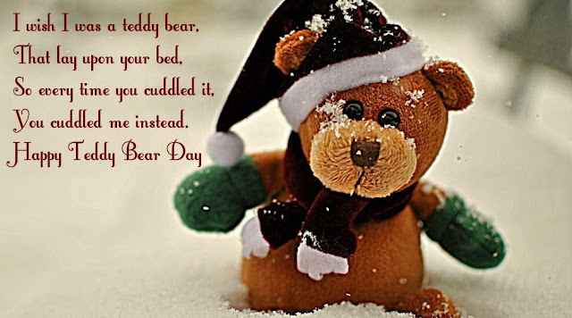 teddy day i love you