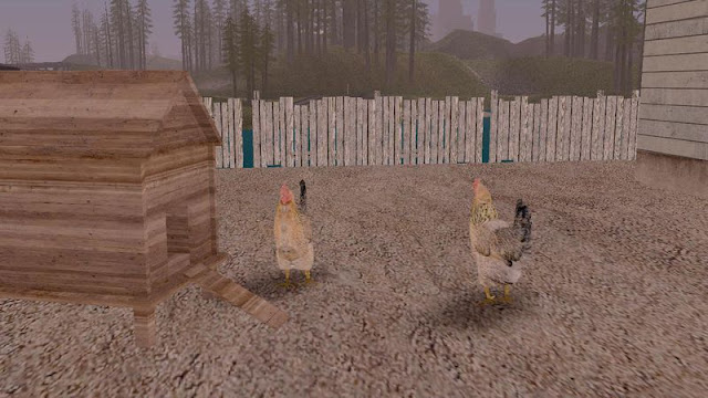 GTA San Andreas Chiken Mod For Pc
