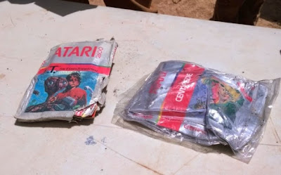 Atari Video game unearthed in New Mexico landfill