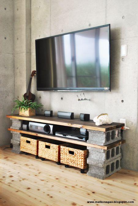 Deco-friendly   Mobiliario DIY de hormigón