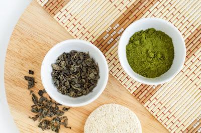 قناع ماتشا الشاي الأخضر