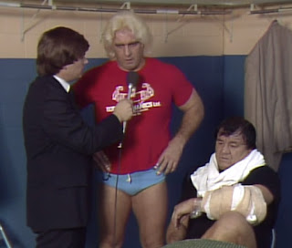 NWA Starrcade 83: A Flare for the Gold - Another Ric Flair promo, this time with Wahoo McDaniel
