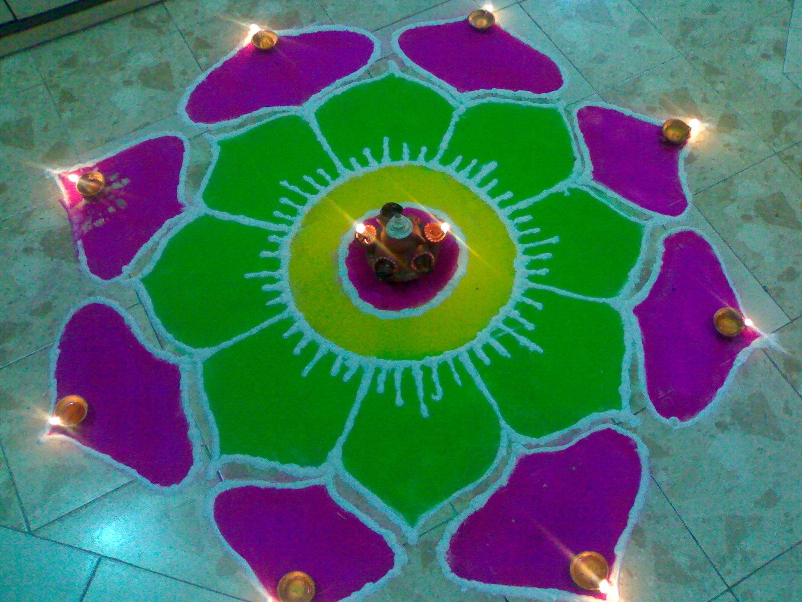 Beautiful Rangoli Designs Patterns For Diwali