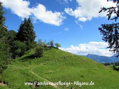 Allgäu-Idylle oberhalb von Roßhaupten