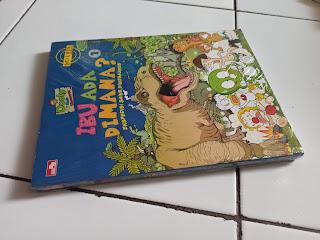 5 Komik Dooly Si Anak Dinosaurus