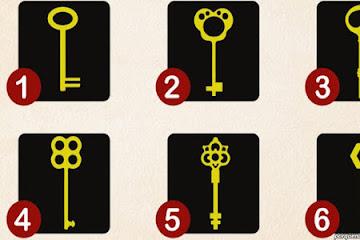 Вот ключи от известного психолога. Выберите один — и узнаете 2 своих главных черты