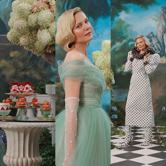 Rodarte Spring Summer 2020 New York. Kirsten Dunst. RUNWAY MAGAZINE ® Collections. Photo: Courtesy Rodarte