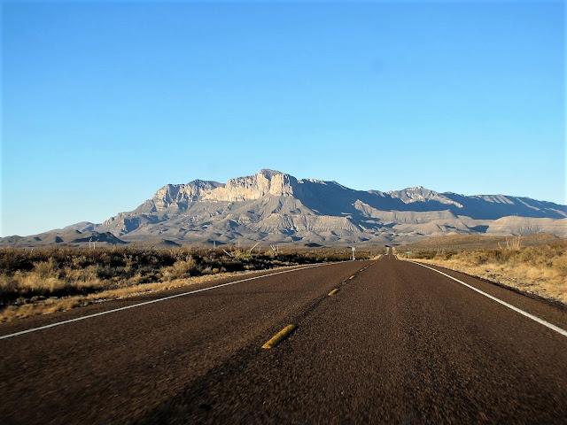 road carlsbad caverns national park new mexico