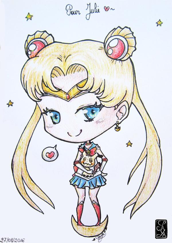 Sailor Moon loves Mimikyu - Sailor Moon aime Mimikyu