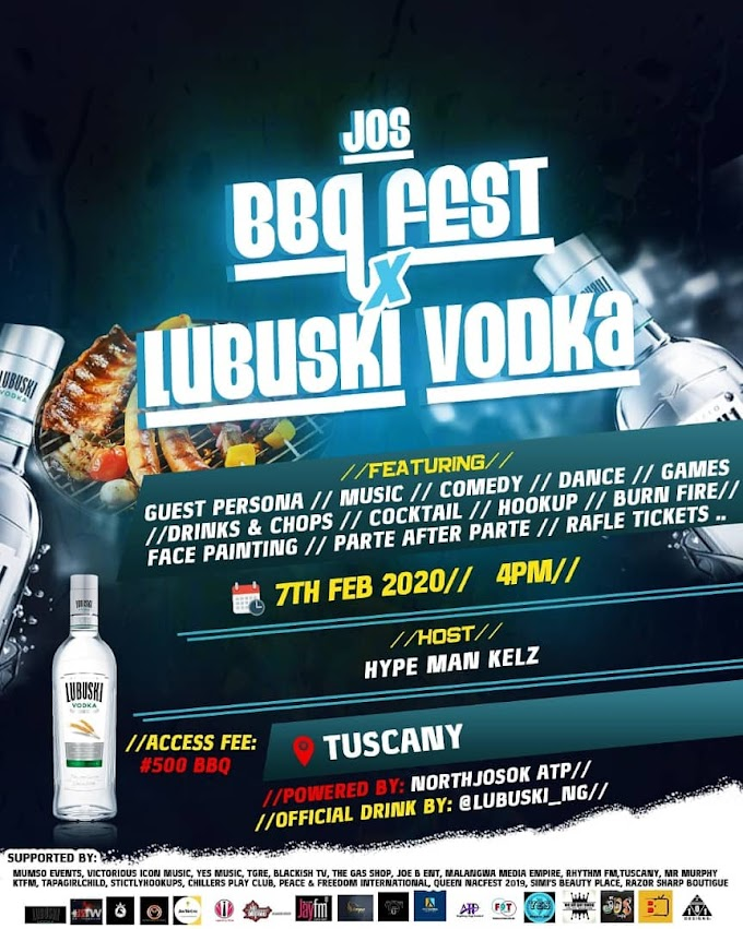 BBQ FEST WITH LUBUSKI VODKA HAPPENING LIVE TODAY