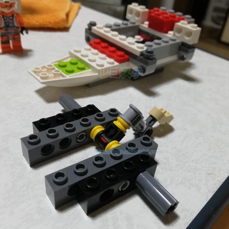 LEGOレビュー:75218 Xウィング・スターファイター:スター・ウォーズ