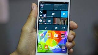 samsung patenta un telefono que puede utilizar windows y android al mismo tiempo