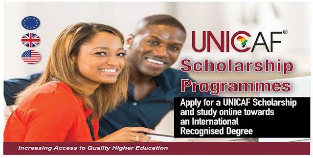 إدرس الماجستير أونلاين مع برنامج Unicaf للمنح الدراسية 2020.