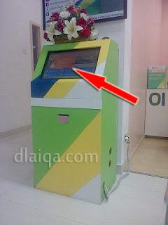 kotak mesin nomor antrian