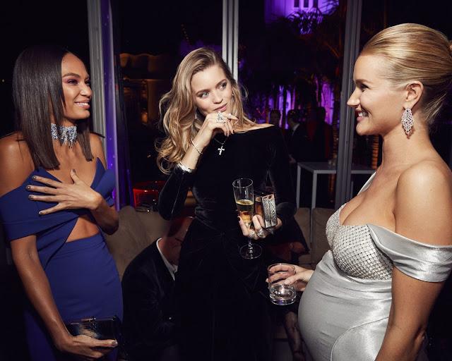 Rosie Huntington Whiteley - 2017 Vanity Fair Oscar Party