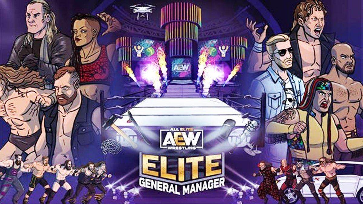 AEW revela novo cinturão para evento especial online