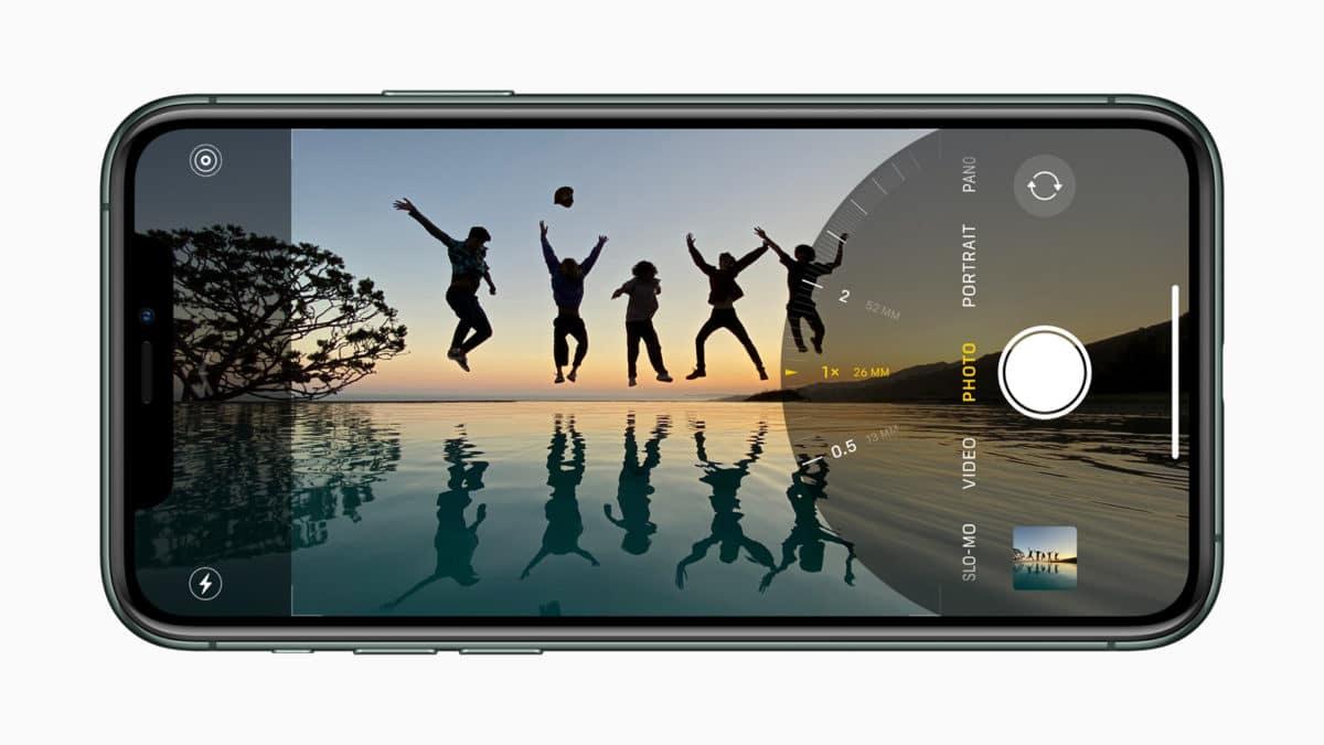 ultra wide camera in iphone 11