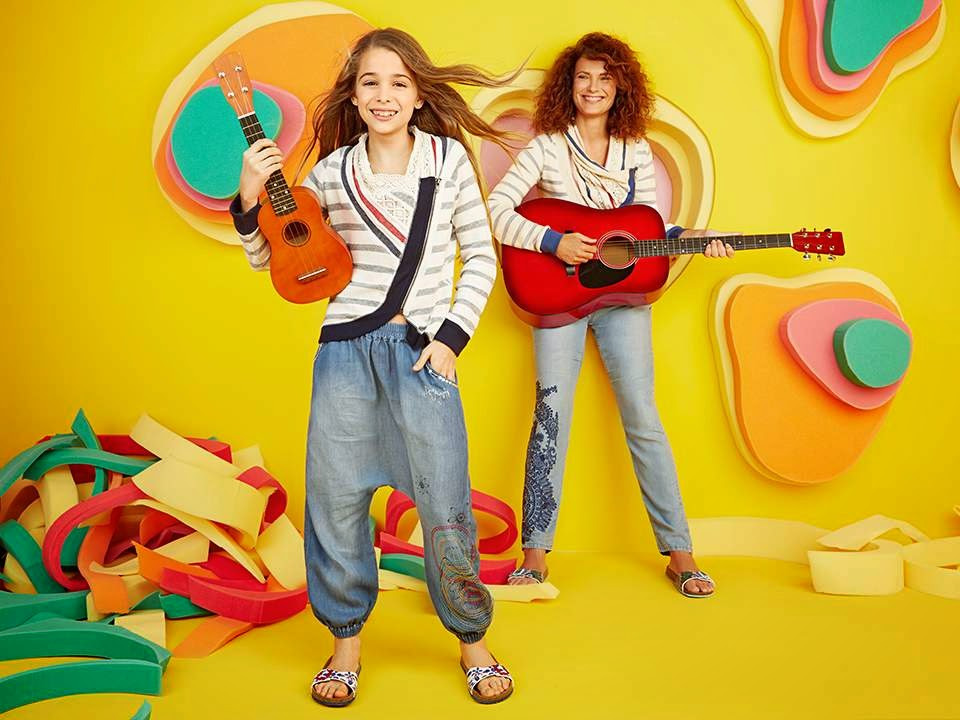 Desigual Kids 'Big and Small' Lookbook Spring/Summer 2015