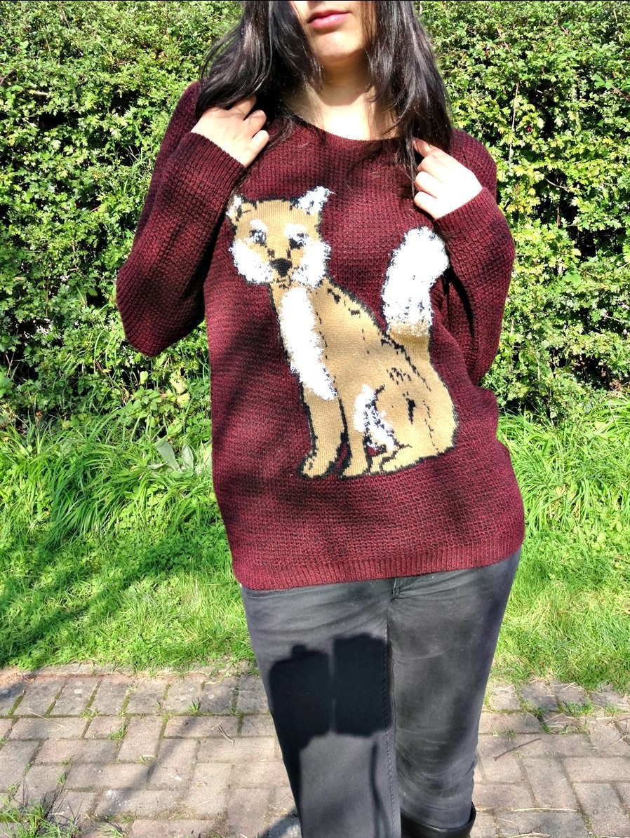 Fox Jumper autumn fashion post